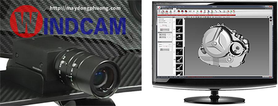 Giao diện phần mềm điều khiển máy scan 3d