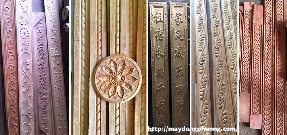 Ứng dụng máy chạm khắc gỗ CNC