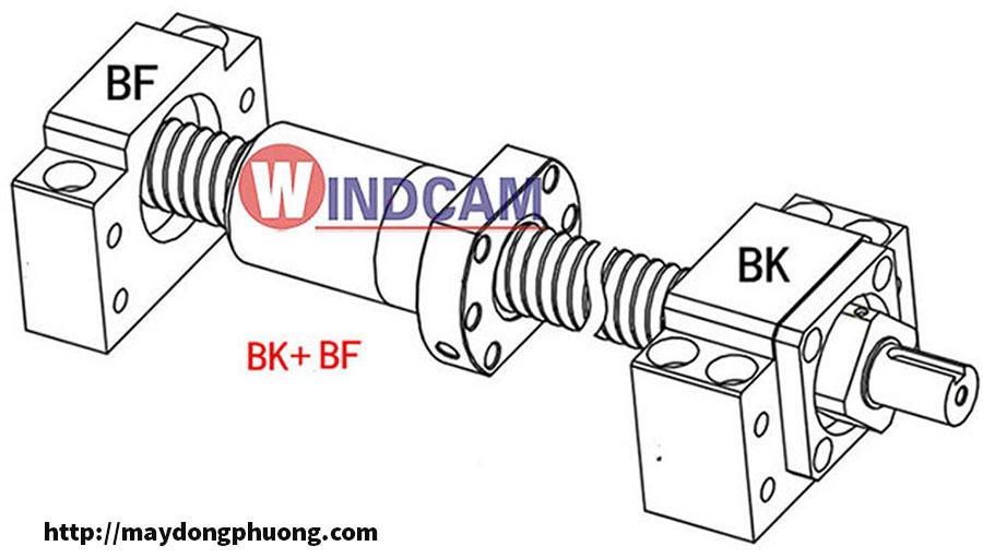 Gối đỡ vitme BK-BF chất lượng cao