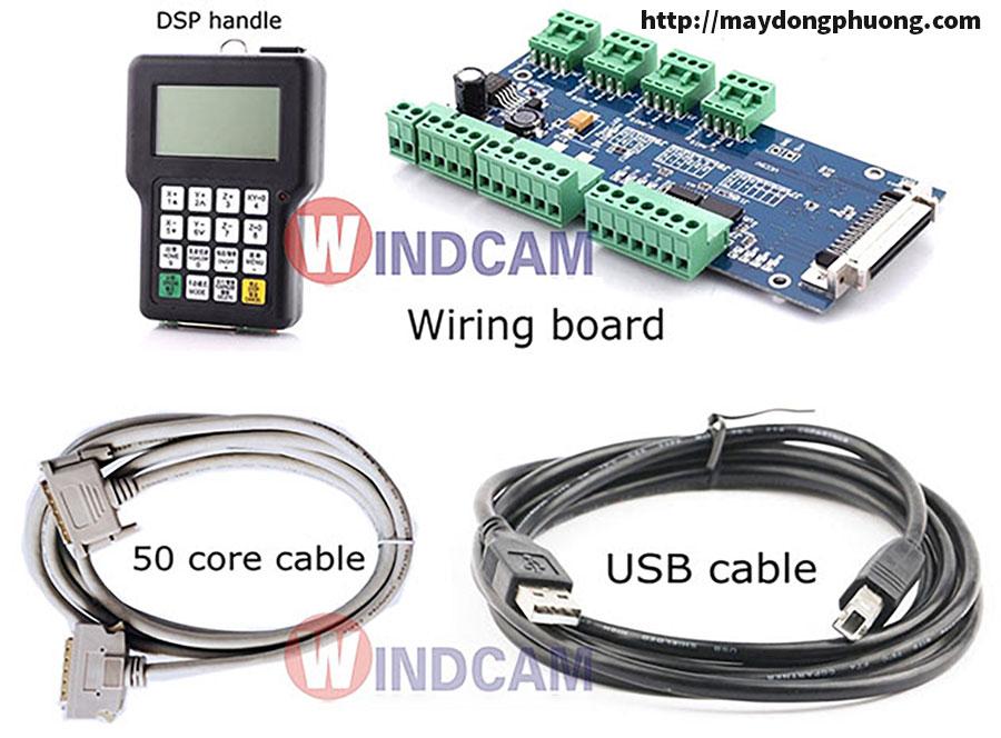 Bộ điều khiển cầm tay DSP 0511 máy cnc