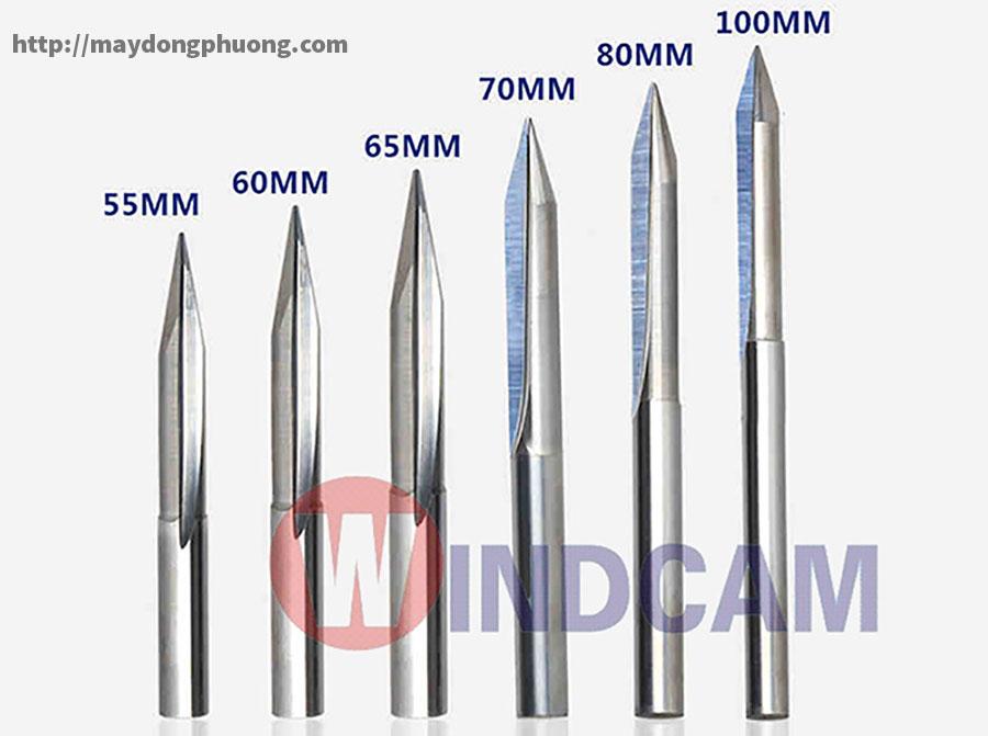 Các loại dao khắc tượng cnc