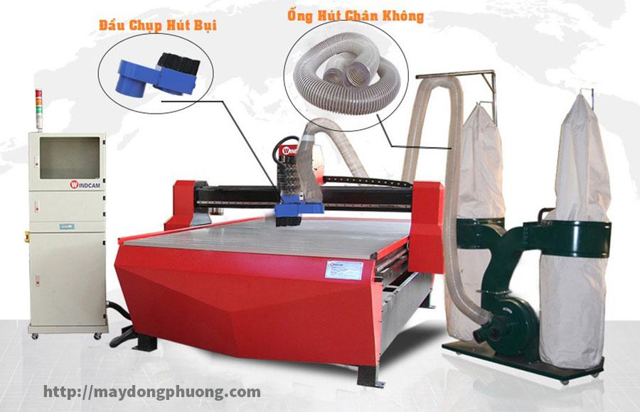 Đầu chụp hút bụi máy CNC