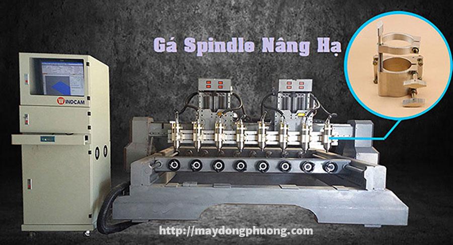 Gá Spindle nâng hạ máy CNC giá rẻ
