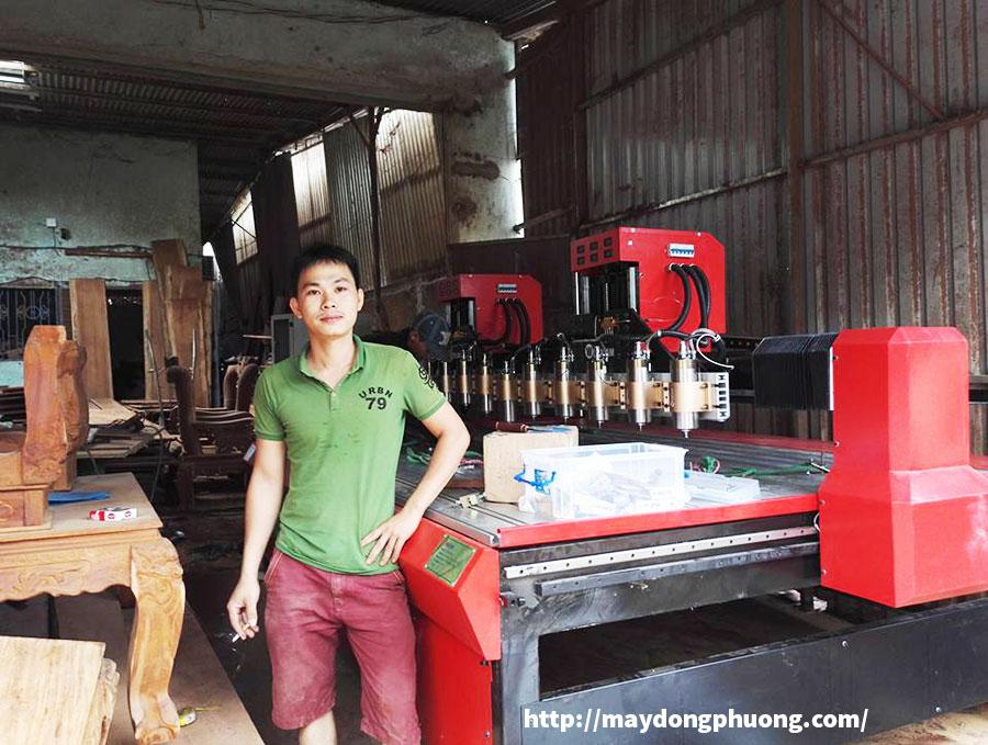 Máy CNC đục gỗ 2225-12-2Z