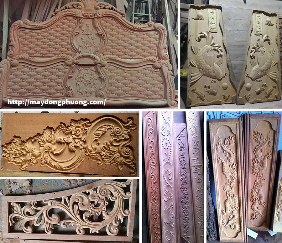 Sản phẩm ứng dụng máy CNC đục gỗ