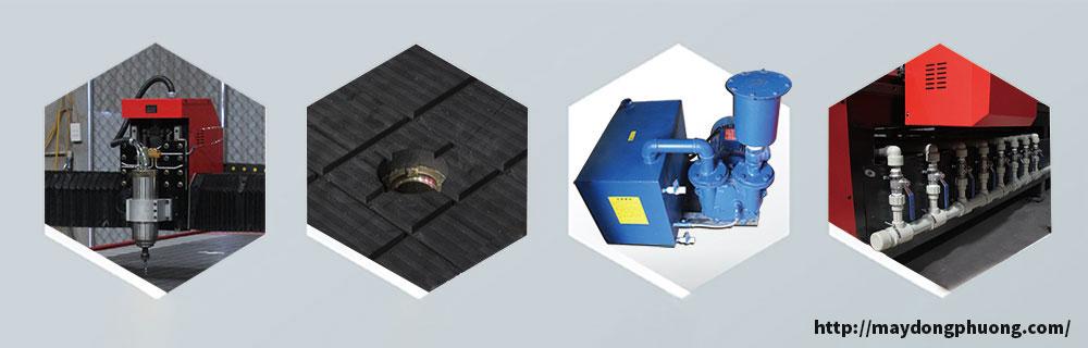 Tính năng máy cắt CNC hút chân không giá rẻ