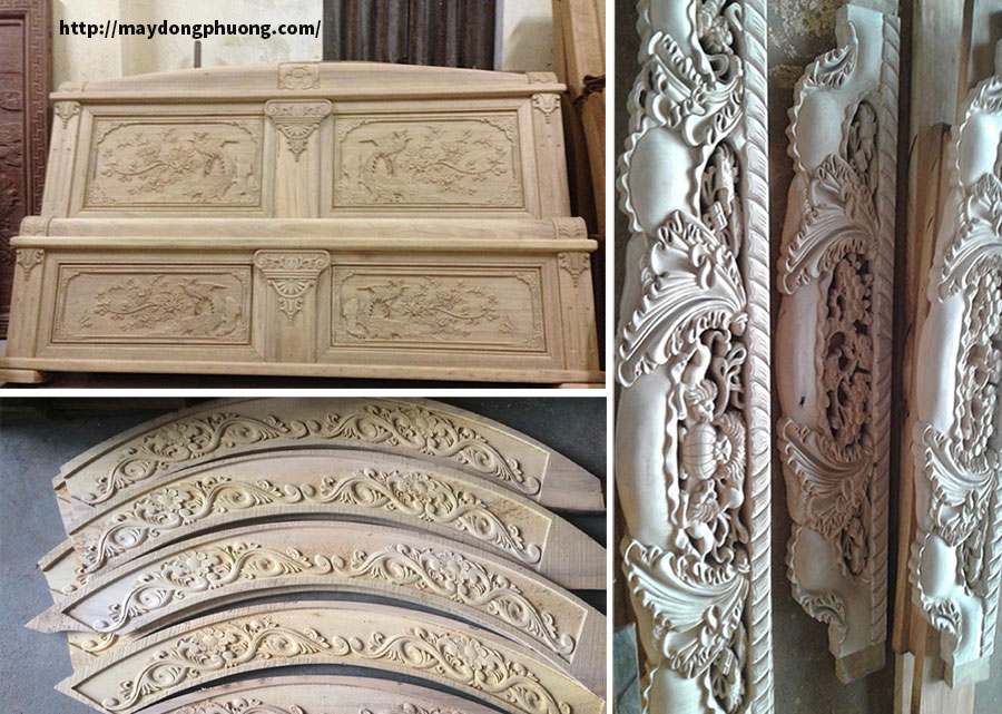 Ứng dụng máy cnc khắc gỗ