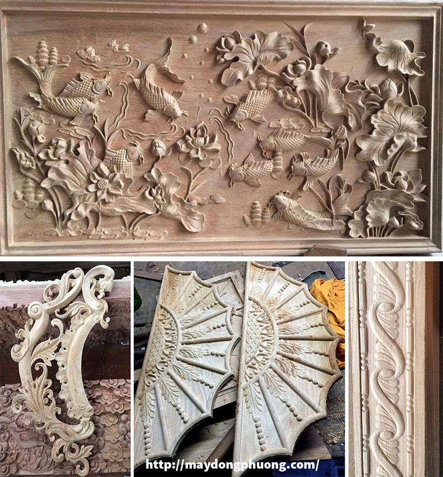 Ứng dụng máy khắc gỗ CNC