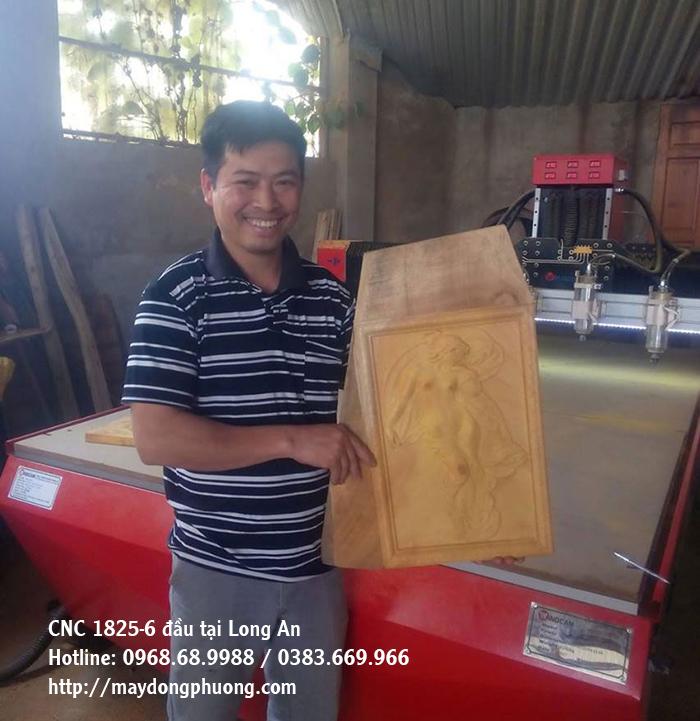 máy khắc gỗ 6 đầu đông phương