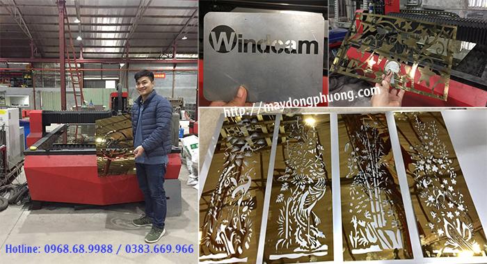 Ứng dụng máy cắt laser fiber Đông Phương