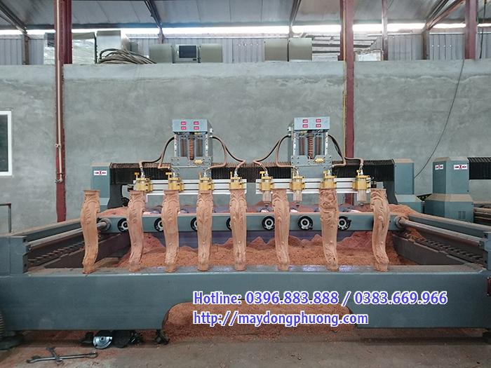 máy đục tượng gỗ đông phương