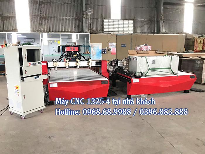 máy cnc 1325-4 mũi