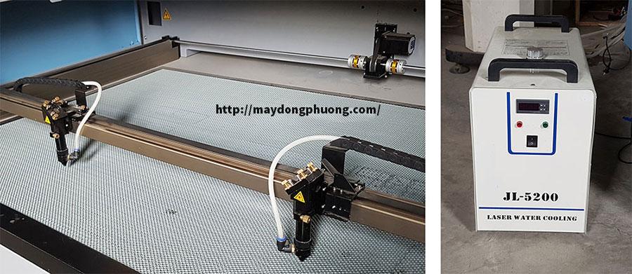 Máy cắt khắc laser 1610 giá rẻ