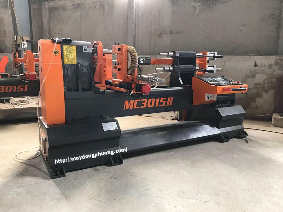 Máy tiện gỗ CNC 2 đầu