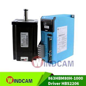 AC Hybrid Servo 863HBM80H-1000 và Driver HBS2206