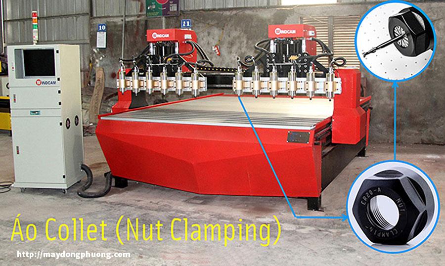 Áo Collet đầu chụp collet máy CNC
