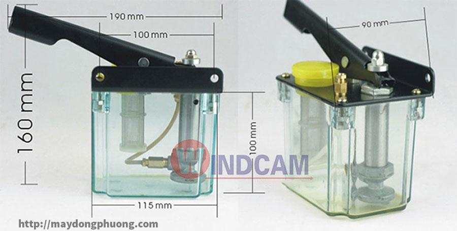 Bình bơm dầu máy CNC giá rẻ
