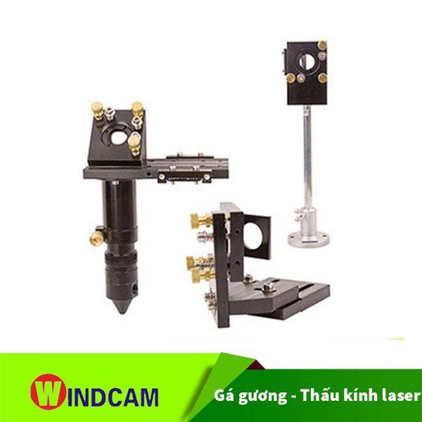Gá đỡ gương thấu kính laser