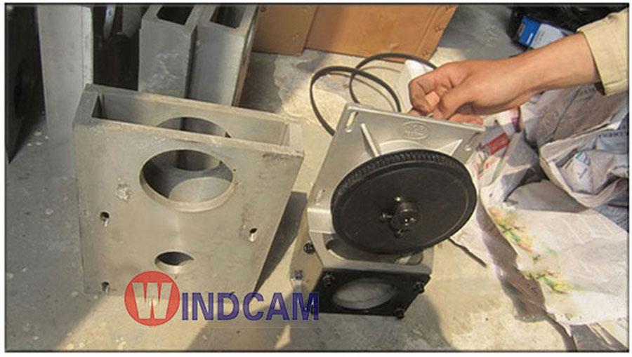 Hộp số dây đai máy khắc CNC