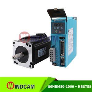 Hybrid servo 86HBM80-01-1000 và driver HBS758