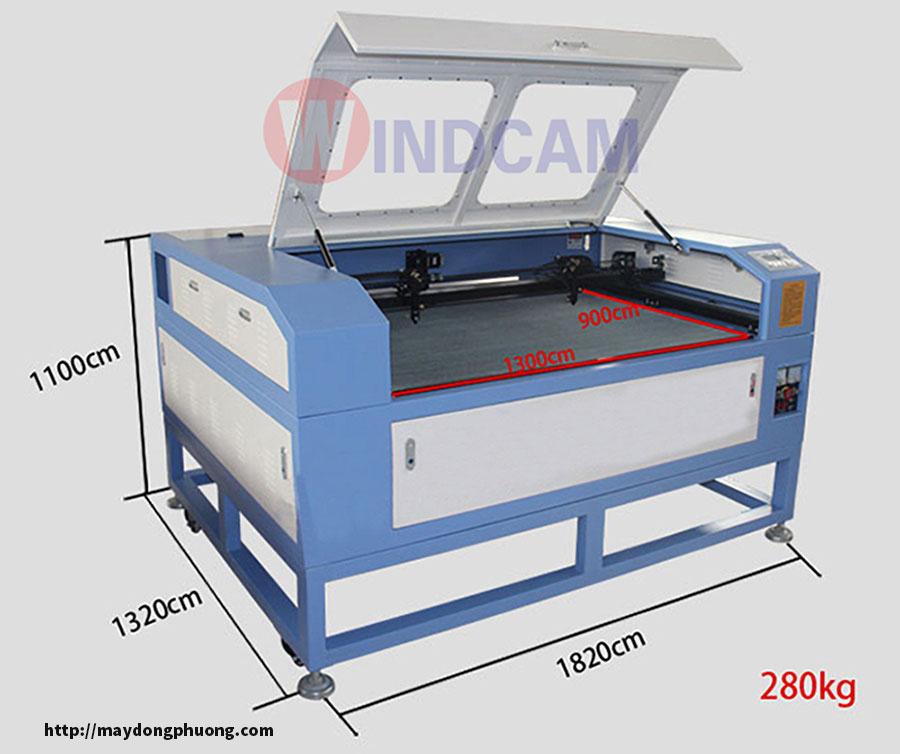 Máy cắt laser 2 đầu 1390