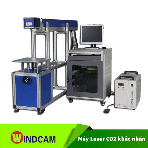 Máy Laser CO2 khắc nhãn