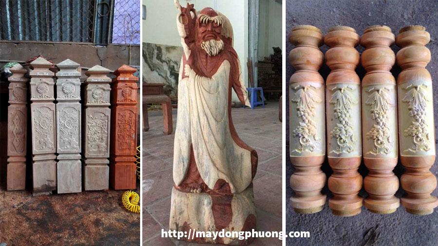Ứng dụng máy khắc tượng gỗ vi tính