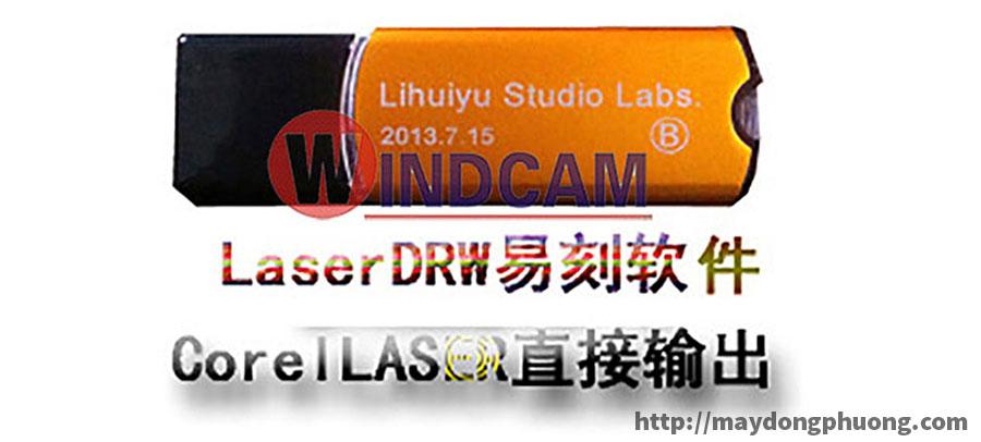usb khóa phần mềm máy laser vàng