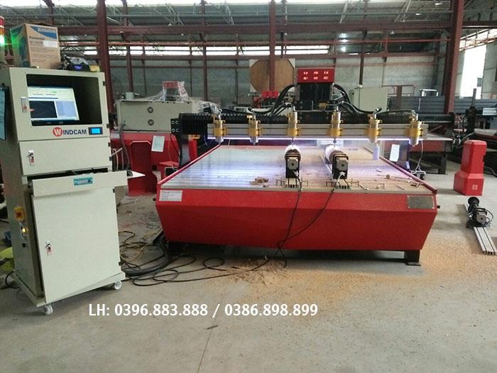 Máy CNC điêu khắc gỗ 2225-6