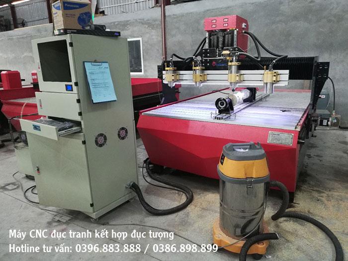 Máy CNC đục gỗ 4 mũi 1325