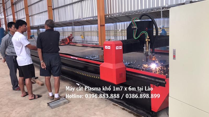 Máy cắt cnc plasma Đông Phương tại Lào