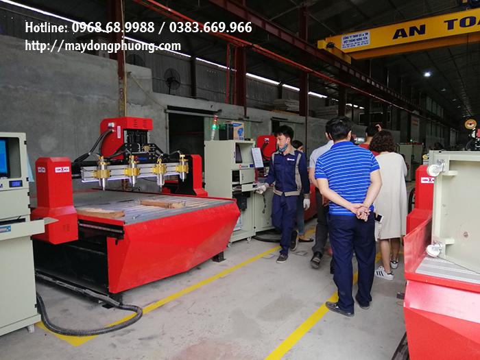 Bảo dưỡng máy CNC Đông Phương