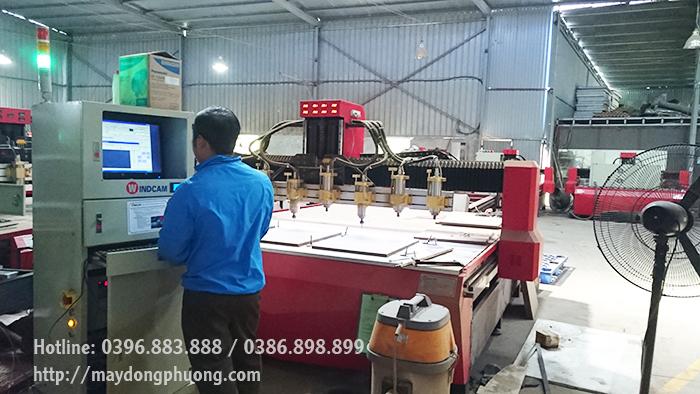 Bảo dưỡng máy CNC windcam
