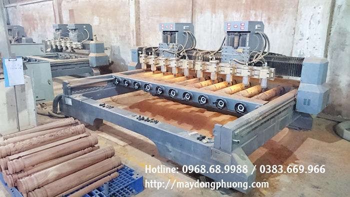 máy cnc khắc tượng gỗ