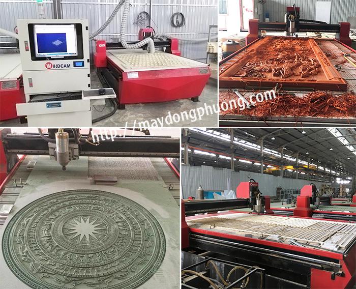 Máy cắt CNC 1 đầu quảng cáo