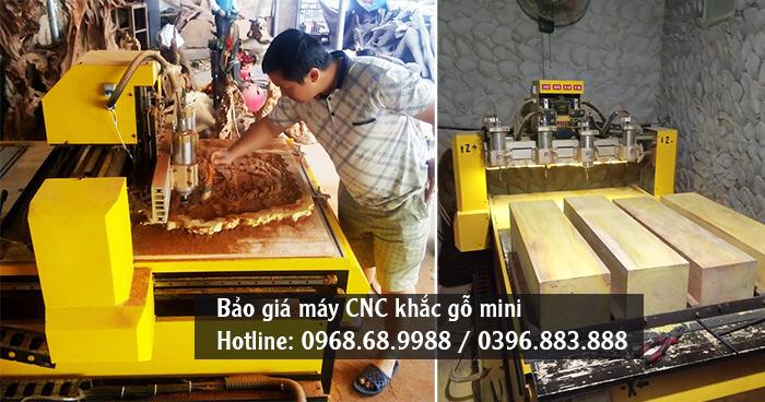 máy khắc gỗ cnc mini giá bao nhiêu