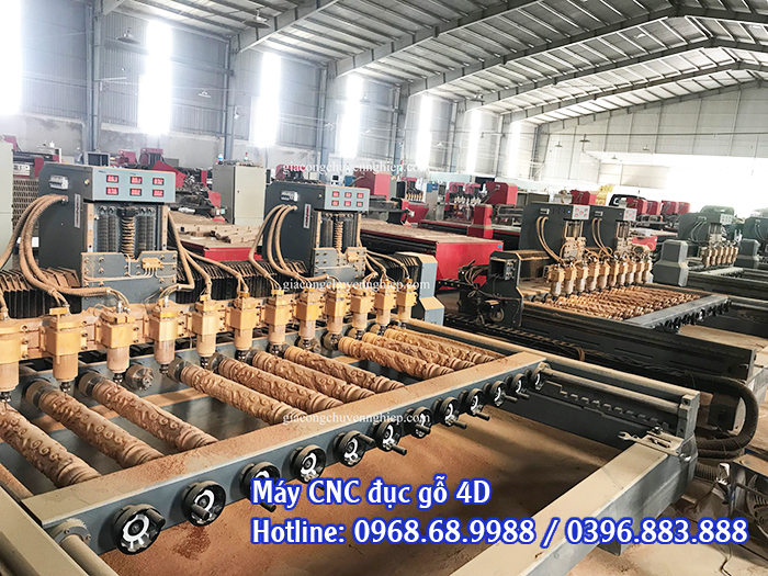 máy cnc đục gỗ 4d