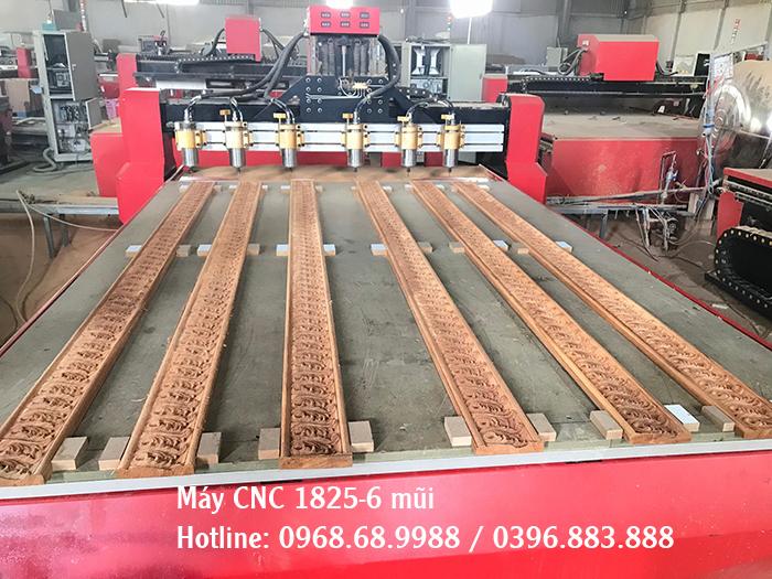 máy đục gỗ 6 mũi