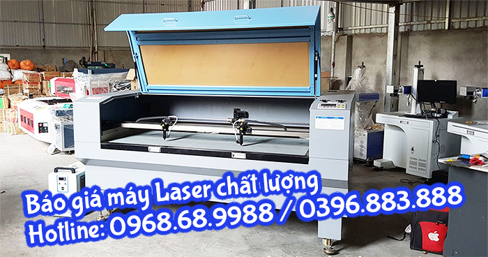 máy laser 1610-2 đầu