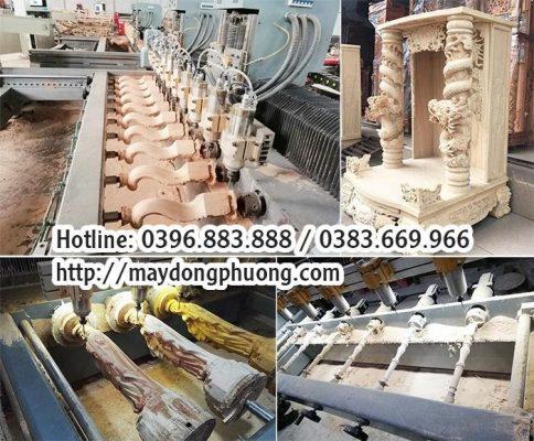 máy cnc đục gỗ giá rẻ