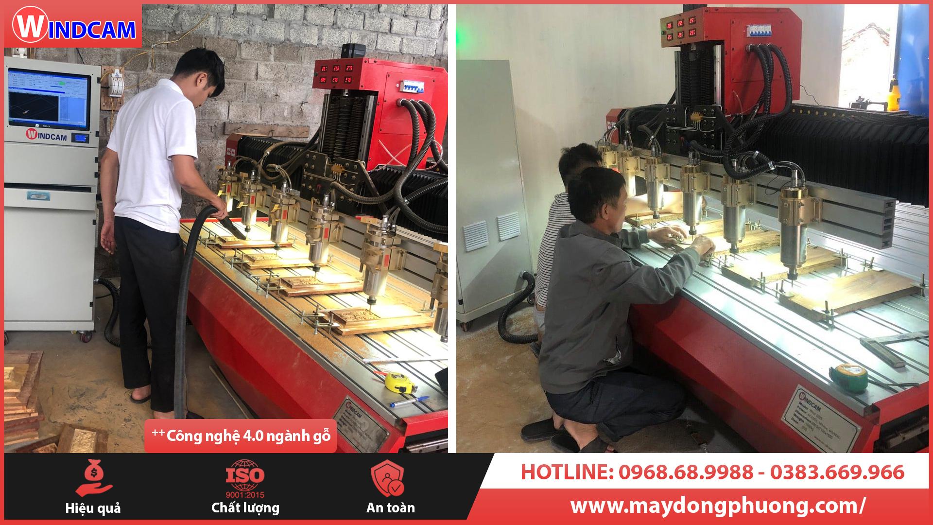 Điểm tên máy CNC chạm gỗ nhiều xưởng mộc tại Quảng Trị đầu tư nhất